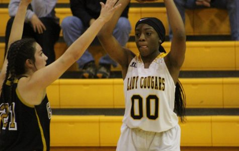 Lady Cougars lose to district leading Pirates