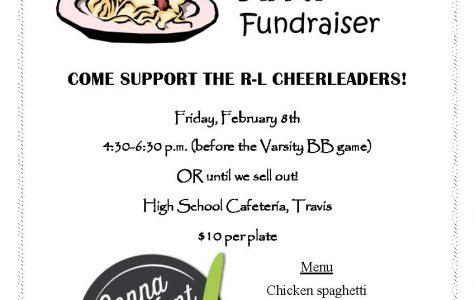 Cheerleaders to host Spaghetti dinner fundraiser