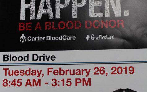Blood Drive returns Feb. 26th