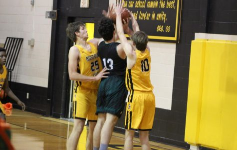 Cougars Control Ravens in district match-up
