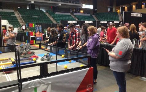 Robotics teams competes at State level