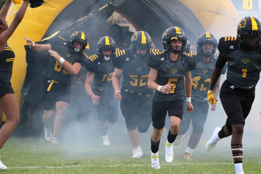 The Cougars take the field for the season opener at Cougar Stadium on Friday night.